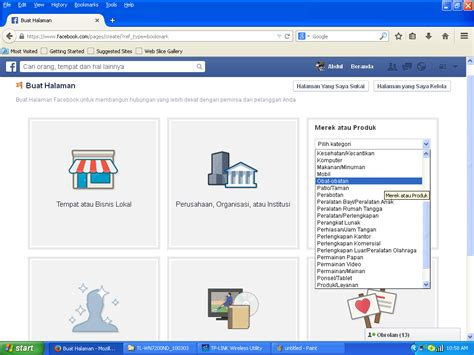 cara membuat halaman usaha di facebook cara membuat halaman di facebook 171 bocah genius