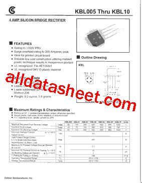 datasheet diode bridge kbl02 datasheet pdf fuji electric