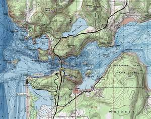 Deception Pass State Park Map by Deception Pass State Park Visitor Information
