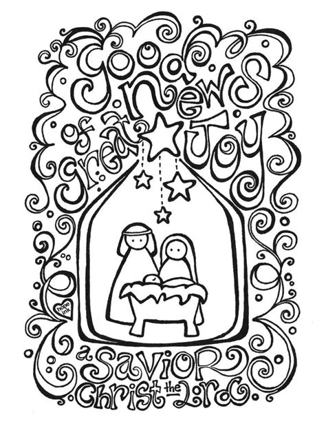 Nativity Scene Coloring Page Coloring Home Printable Nativity Coloring Pages