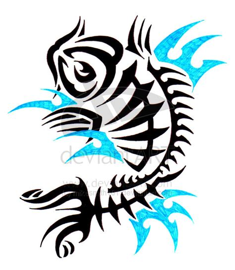 tribal koi fish bend of japanese and