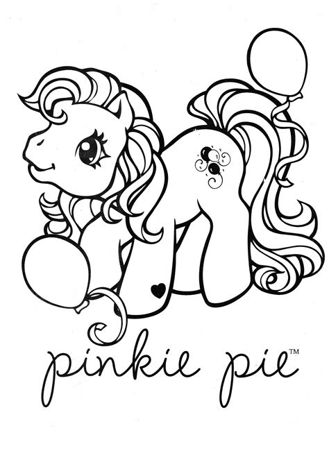 Pinkie Pie Coloring Page by My Pony Coloring Page Mlp Pinkie Pie Coloring