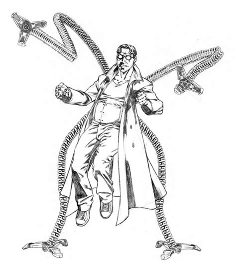 doc ock coloring pages coloring pages