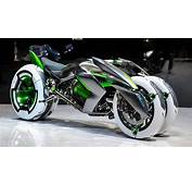 Kawasaki Built A Time Machine And Stole Bike From The