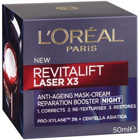 L Oreal Revitalift Laser X3 l oreal revitalift laser x3 anti ageing mask 50ml