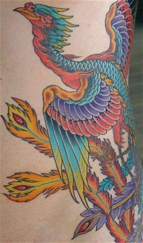сторона япония феникс татуировка от kings avenue