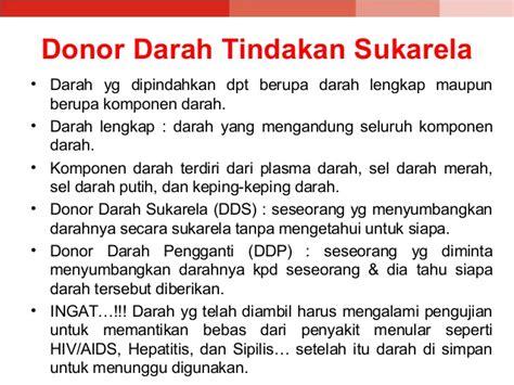 Donor Darah 3 donor darah ppt