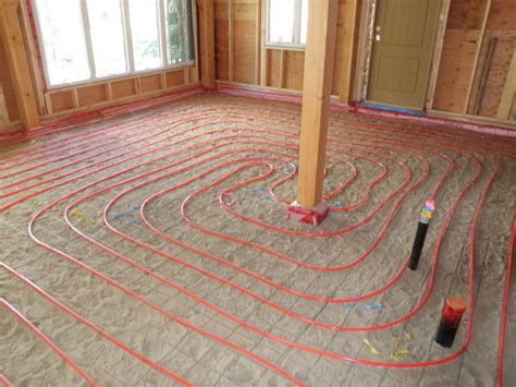 Radient Floor Heating by Kootenay House Radiant Floor Heating
