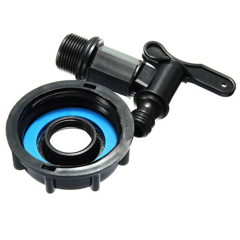 Garden Hose To Adapter Black 1000l Ibc To 1 2 Water Tank Garden Hose Adapter