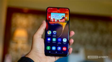 Samsung Galaxy A50 Front by Samsung Galaxy A50 Review Samsung S Best Mid Range Option