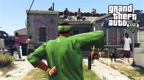 mod gta 5 gang joining a gang gang wars gta 5 mods youtube