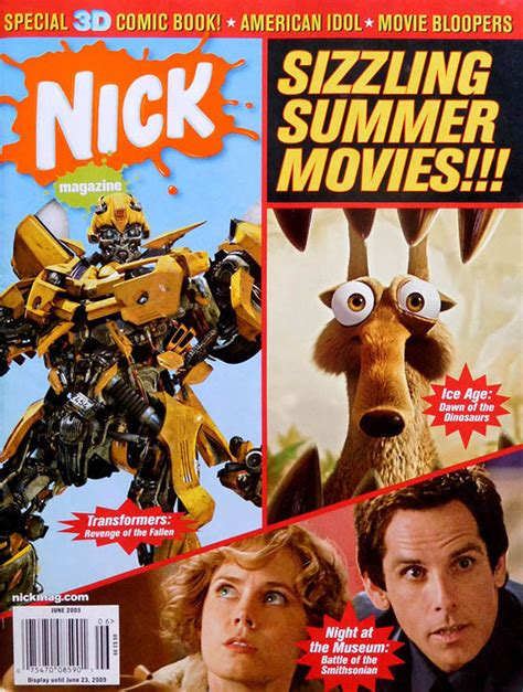 powered by phpdug movies for 2009 image nick magazine cover june 2009 summer movies jpg