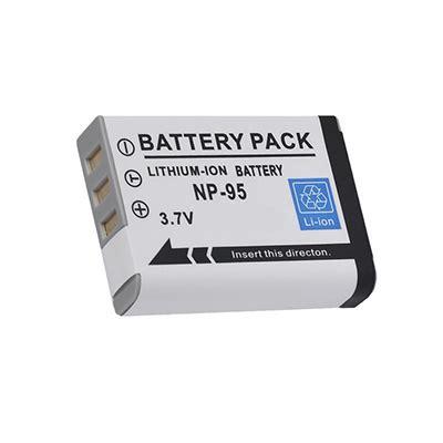 Baterai Fujifilm Np 95 bateria np 95 fujifilm pinepix f30 real 3d w1 f31fd x100