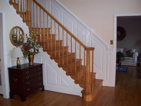 Wainscoting Stairs by Custom Made Stair Wainscot By Sdg Home Solutions