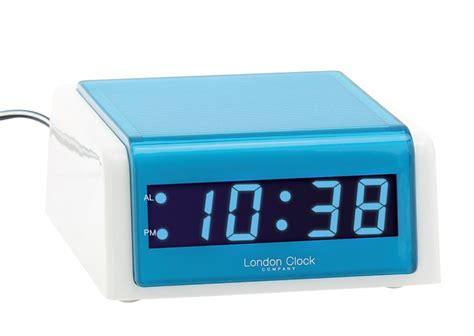 Blus Clok 01 alarm clock clock company 80 s led white blue