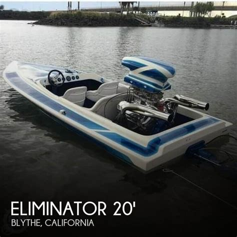 project boats for sale california canceled eliminator sprint 19 boat in blythe ca 121812