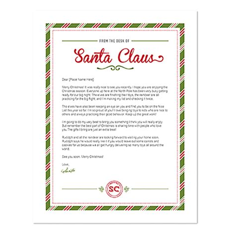 Thank You Letter Template To Santa Mds Dwnlda Letter From Santa Designer Template