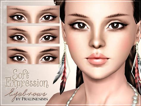 how to soften hair on eyebrows and get them to lay down pralinesims soft expression eyebrows