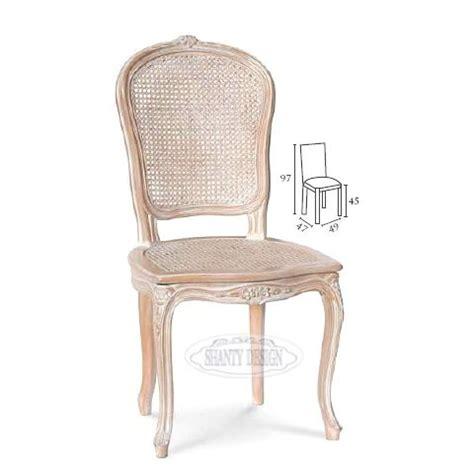 sedia di paglia sedia country con paglia di vienna dorian 1 sedie shabby chic