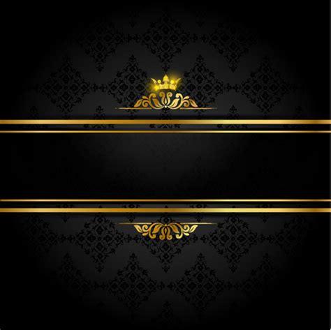 Kaos 3d Elengant Murah Go Logo Navy ornate vip gold background vector 05 vector background free