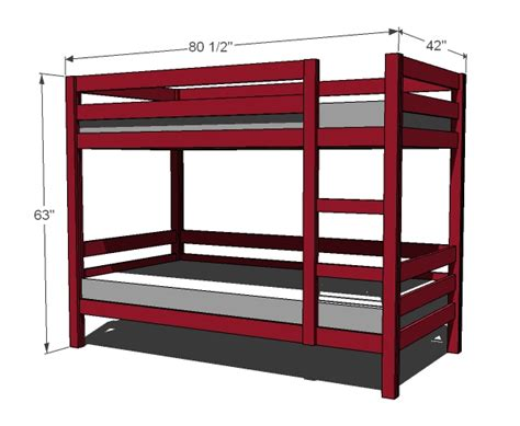 Woodworking Bunk Bed Plans Bunk Bed Woodworking Plans Woodshop Plans