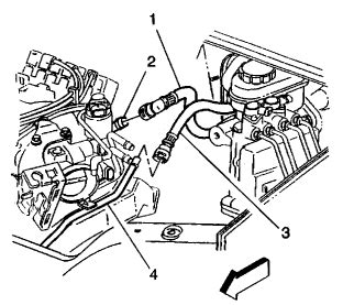 where is the heater valve on a 2002 chevy venture