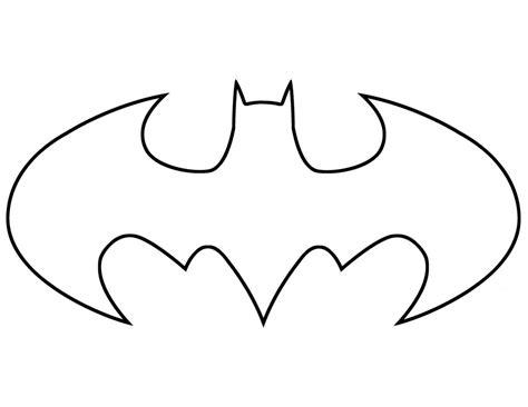 symbol template batman symbol outline cliparts co