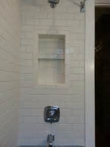 How To Tile A Bathtub Surround Recessed Shower Niches Bathroom Renovations