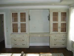 Bedroom Vanity Built In Built In Bedroom Vanity W Custom Antique Painted Finish
