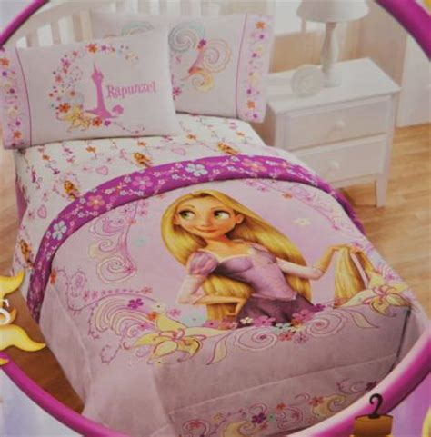 tangled bedding disney tangled rapunzel single bed quilt duvet 3pc sheet set ebay