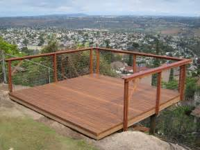 decking banister cable deck railings