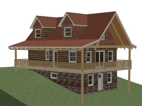 log home floor plans with garage and basement open floor plans log home with plans log home plans with