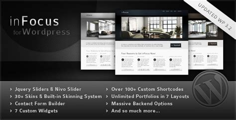 themes for infocus mobile infocus powerful professional wordpress theme by behzadg