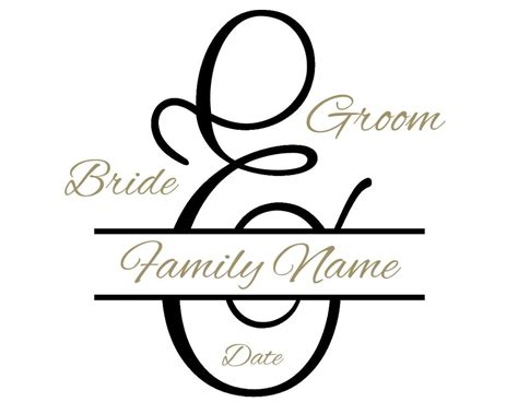 Wedding Monogram by Free Custom Wedding Monogram