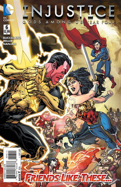 injustice gods among us year four vol 2 injustice gods among us year four 6 233 dition issues dc
