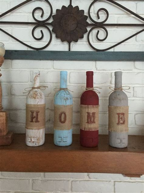 home decor gift best 25 decorating wine bottles ideas on