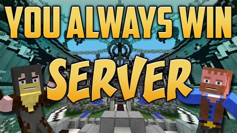 you always win maps official youalwayswin minecraft server beta