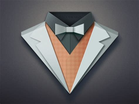 How To Make Paper Jacket - paper suit by paco dribbble