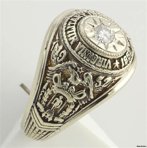 jewelry classes virginia virginia institute 1952 womens class ring