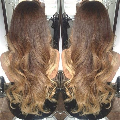 light brown to ombre hair styles