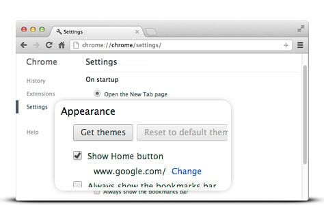 how to set as your homepage in any browser