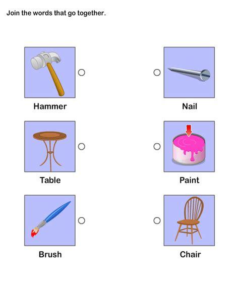 go together worksheet 6 esl efl worksheets