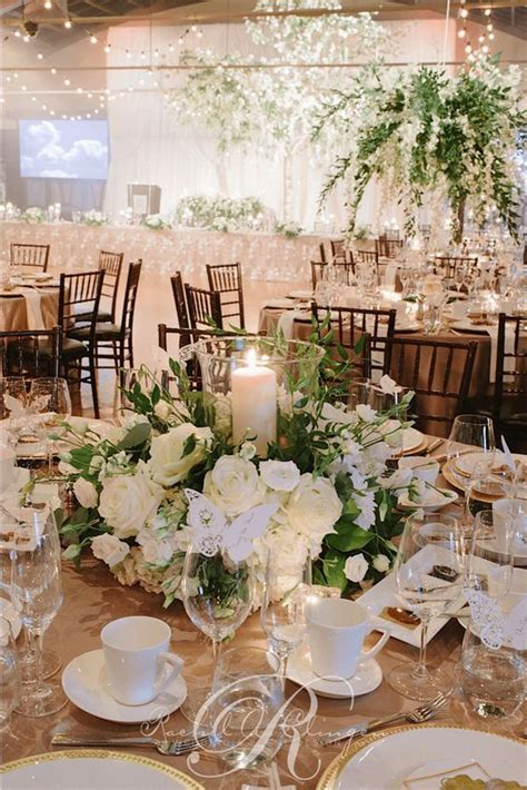 Wedding Flowers Reception Ideas by 2017 Wedding Trend Greenery Wedding Color Ideas