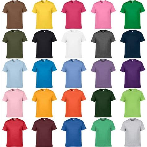 color t shirts customize t shirt oem any color shirts cheap price