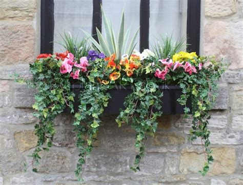 artificial window box plants 25 best ideas about artificial outdoor plants on