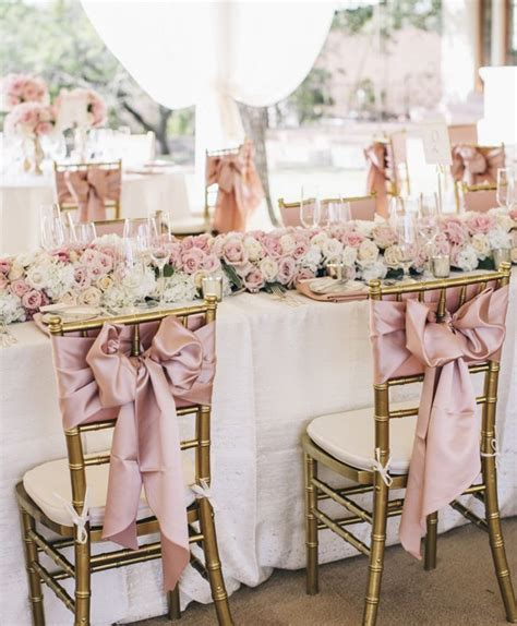 wedding table and chair decorations wedding chair decorating ideas 7 wedding inspiration
