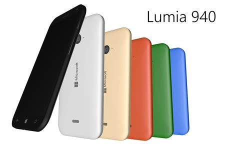 Microsoft 940 Xl microsoft lumia 940 xl render shows windows 10 mobile running sleekly