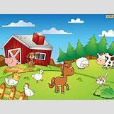Cartoon Farm Scene | 2048 x 1536 jpeg 219kB