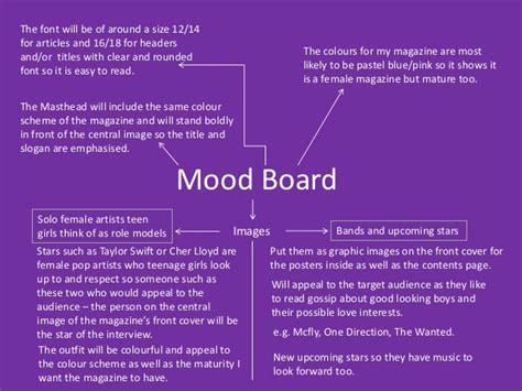 mood sharing and experimentation mood board ideas