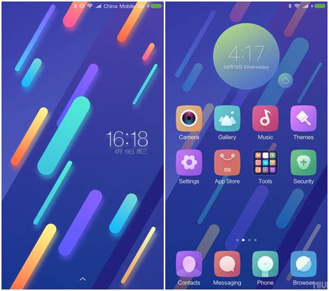 xiaomi official themes xiaomi mi 6 official theme for miui8 xiaomi redmi note 4